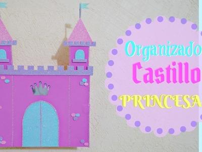 Como hacer un Castillo cartón (organizador)de Princesas
