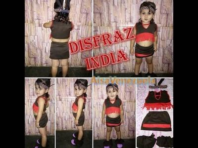 Como hacer un Disfraz de India DIY Completo Paso a paso | AisaVenezuela