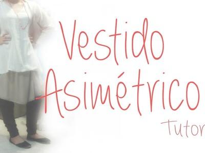 ♥ Cómo hacer un Vestido Asimétrico  ♥