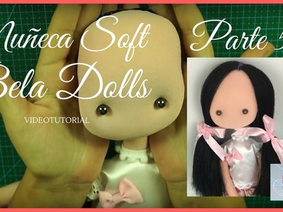 Como hacer una muñeca Soft Parte 5- Hacer cabeza para muñeca soft