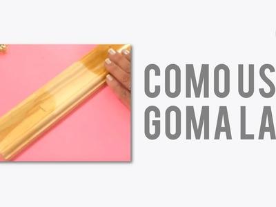¿Cómo utilizar Goma Laca en escamas e Incolora? | Lidia Gonzalez Varela en Manos a la Obra