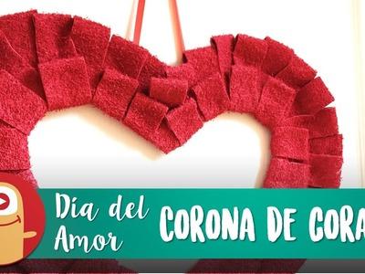 Corona de Corazón para San Valentin - LOS MARCIANOS LLEGARON