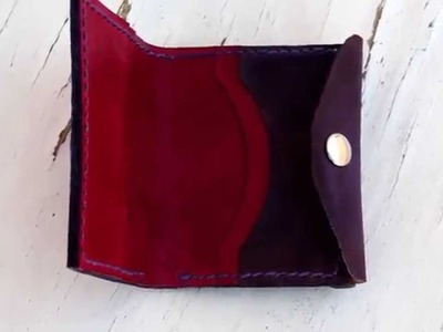 Creación de una cartera de cuero