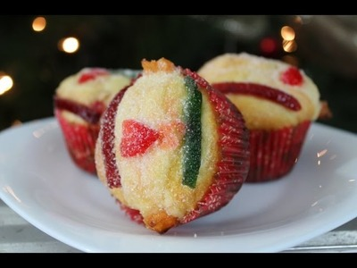 Cupcakes de Rosca de Reyes