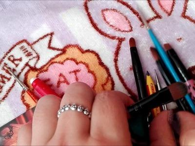 D.M.: Materiales para maquillar dolls !