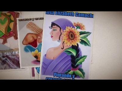 Diferentes Labores Pintando y Creando Con Cony 2016