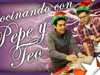 Galletitas de Navidad y ¡SORPRESA! | Pepe & Teo