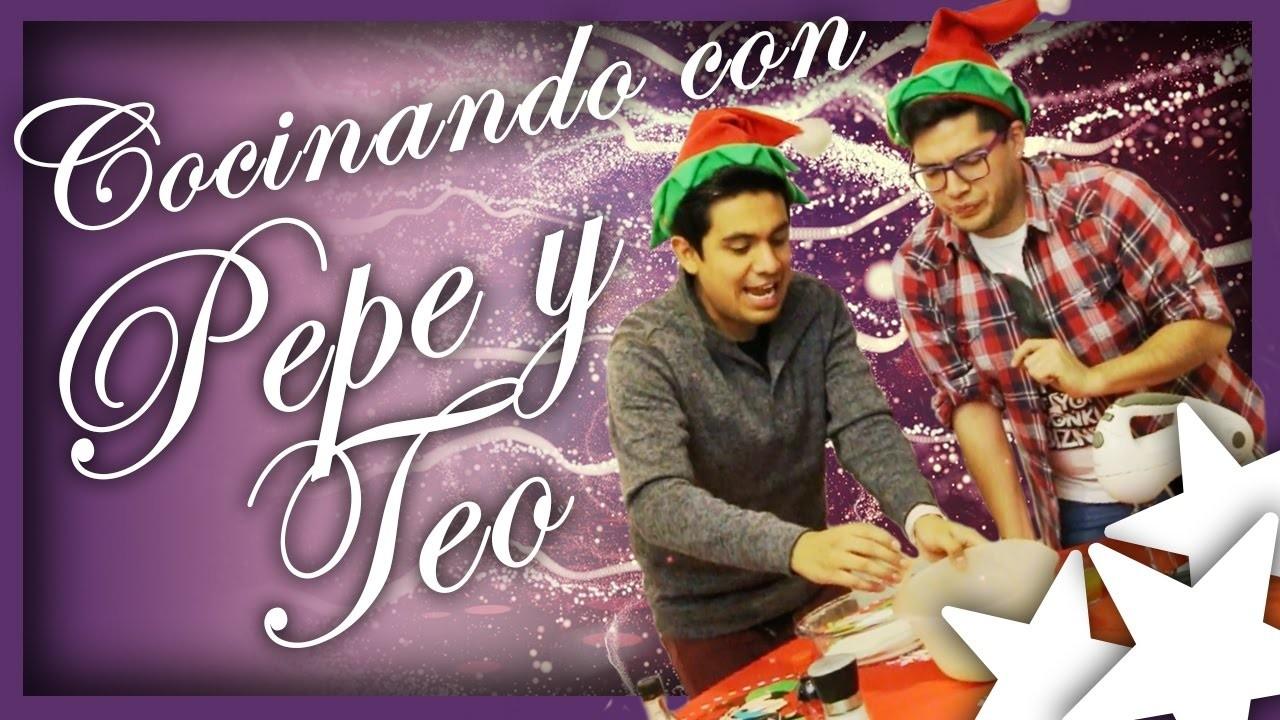 Galletitas de Navidad y ¡SORPRESA!   Pepe & Teo