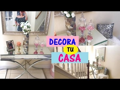 IDEAS PARA DECORAR LA ENTRADA DE TU CASA