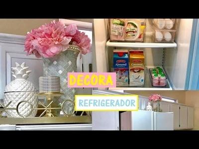 IDEAS PARA DECORAR TU REFRIGERADOR Y COMO ORGANIZARLO