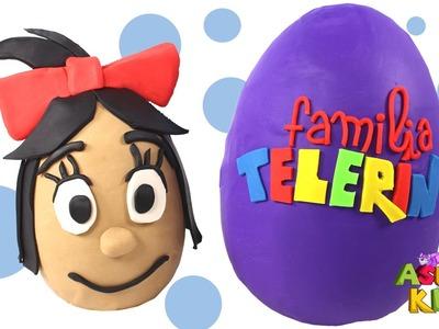 ???? LA FAMILIA TELERÍN ???? Huevos Sorpresas con Cleo, Teté, Maripí, Coletas y Cuquín