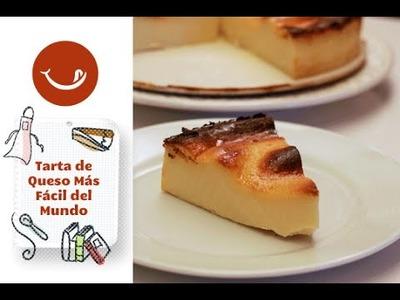 La Tarta de queso más fácil del mundo