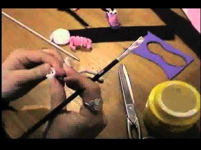 Muñecos en papel crepe tecnica modelado de papel crepe