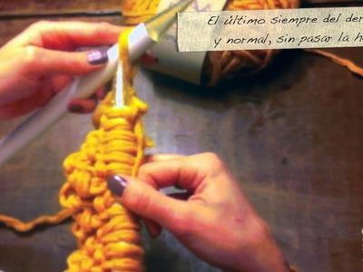 OMH! Si quieres, puedes hacer tu Brufanda. Parte 2: Cómo hacer el punto Brufandero