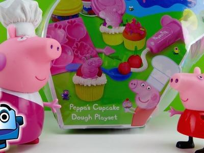 Peppa Pig Plastilina para Fiesta de Cupcakes Peppa's Cupcake Dough Playset - Juguetes de Peppa Pig