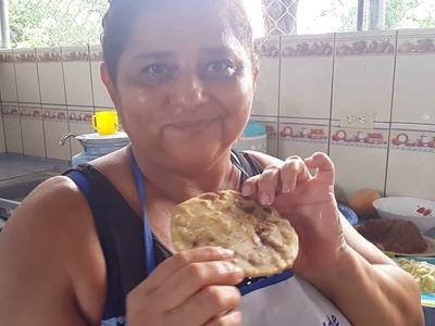 Recetas Salvadoreñas: Cómo hacer PUPUSAS y CHOCOBANANOS por Gladis La Sirenita