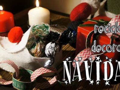 Recicla y decora tu navidad [FACIL]