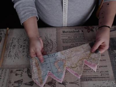 #Tutorial: coser una corona de tela (para los reyes de la casa)