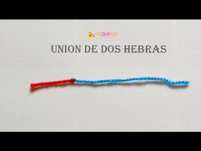Union de dos hebras