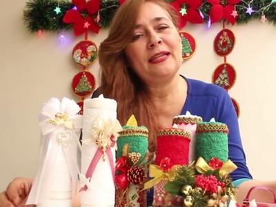 VELAS lindas y fáciles.Diy RECORDATORIOS DE BAUTIZO O PRIMERA COMUNION.Adornos de Navidad.????????