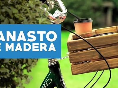 ¿Cómo hacer un canasto de madera para tu bicicleta?