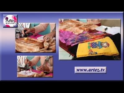 Cómo decorar telas: shibori y estampado