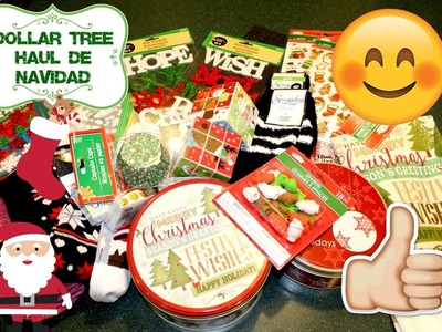 DOLLAR TREE HAUL DE NAVIDAD | DOLLAR TREE CHRISTMAS HAUL | 11.03.16