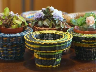 Funda voluminosa – cubierta para la maceta de flores