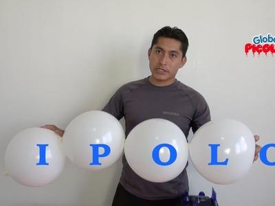 Haz tus propios globos bipolo con un globo normal # 49