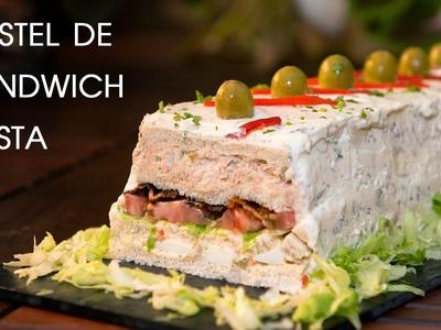 Pastel de Sandwich Para Fiestas