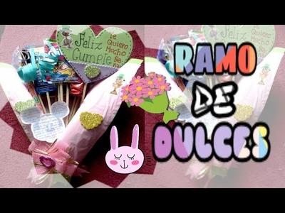 REGALO DE CUMPLEAÑOS ???? Ramo de dulces ???? | Ojitoz Anshu