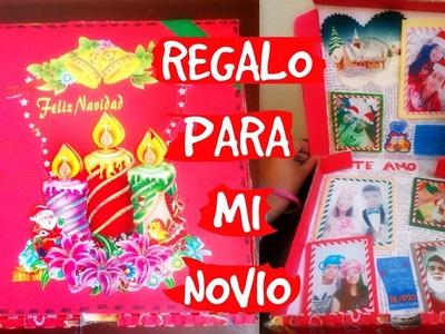Regalo original ♥ Caja de pizza ???? navideña para mi novio ???? | Ojitoz Anshu