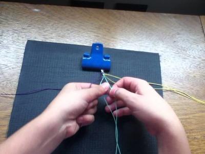 Tutorial: Como hacer una pulsera de hilo encerado :)