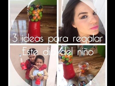 3 Ideas para regalar el Día del Niño