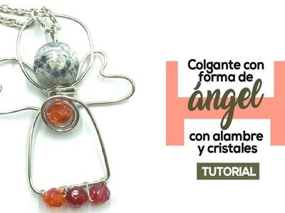 Alambrismo: Como Hacer Colgantes en Forma de Ángel con Alambre!