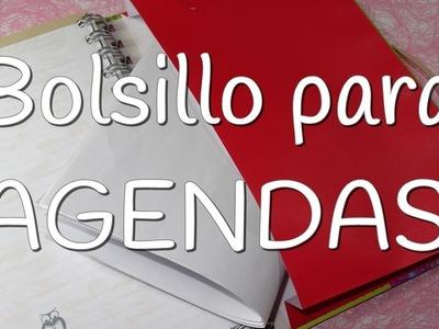 Bolsillo para agendas y cuadernos