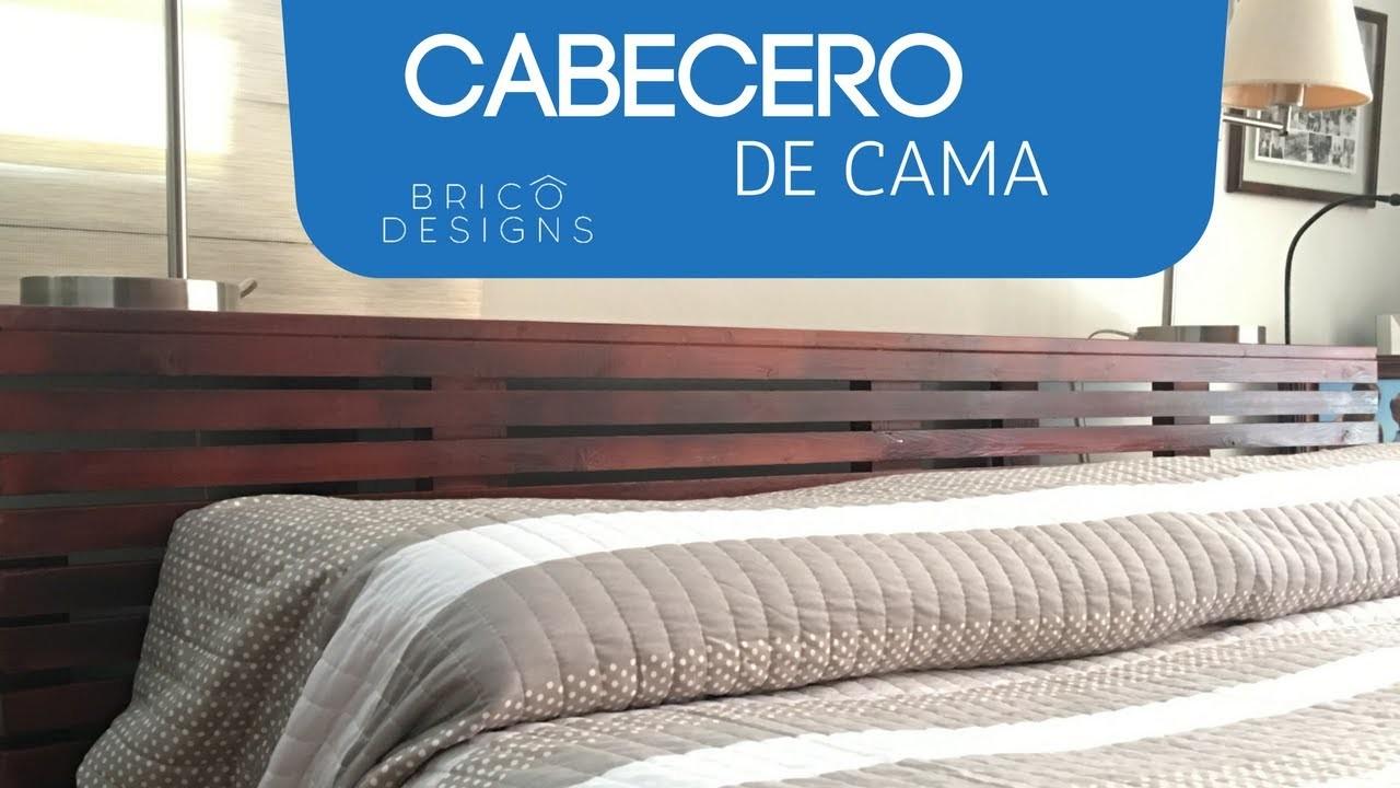 Cómo hacer un cabecero de cama | DIY headboard