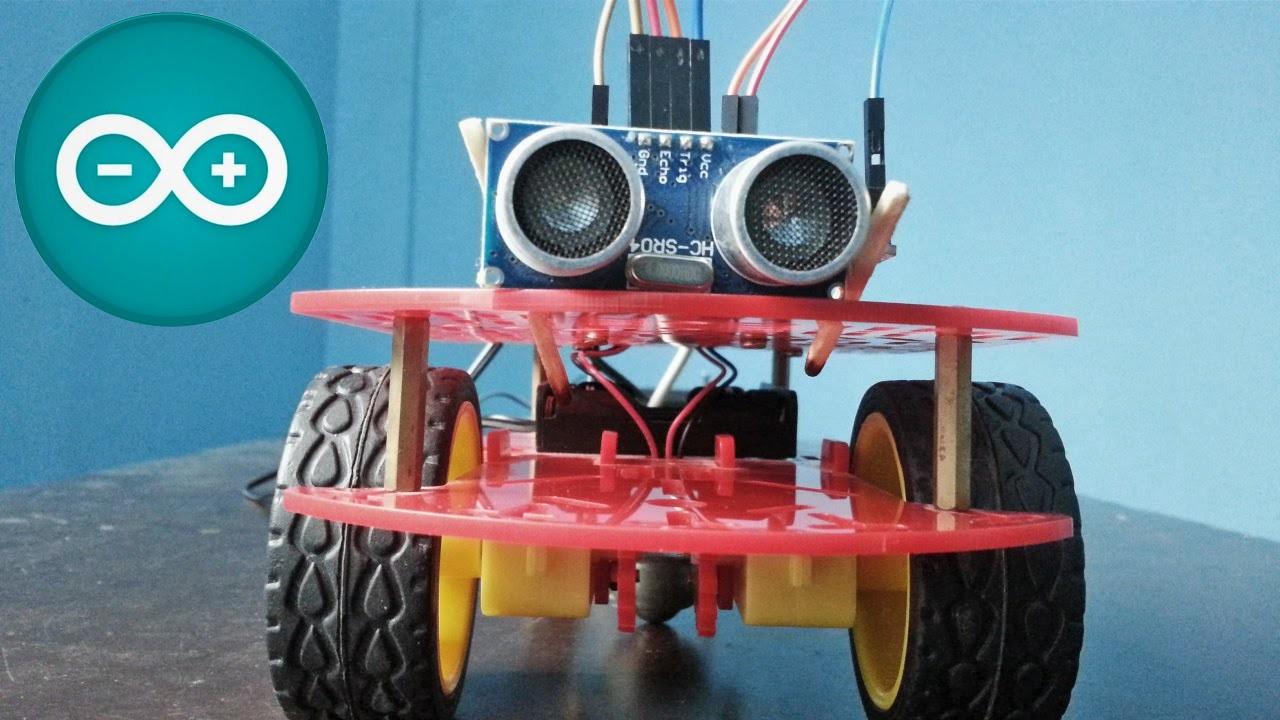 Cómo hacer un robot esquiva obstáculos | Arduino