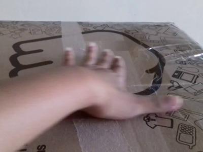 Como hacer una caja de regalo marinero parte I