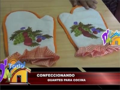 Confeccionando guantes para cocina -  De Todo en Casa