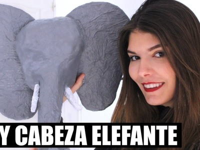 DIY: CABEZA ELEFANTE | SOPORTE PARA CASCOS