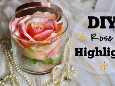 DIY Lancome Rose Highligth|Hazlo tu Mismo Iluminador en forma de Rosa|IvonneDiazMakeup