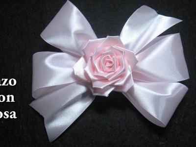 # DIY - Lazo con rosa