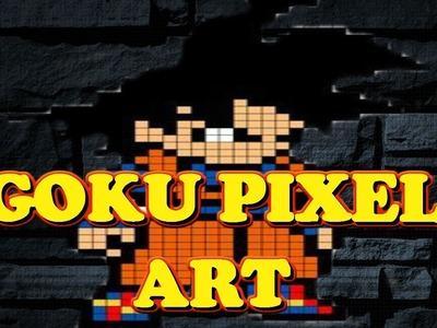 DRAGON BALL PIXER ART GOKU