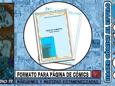 FORMATO PARA PÁGINA DE CÓMIC   MANGA   HISTORIETA