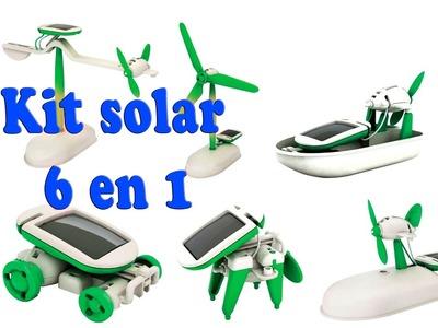 Kit solar 6 en 1 banggood. Español.