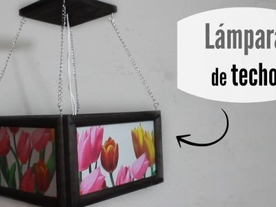 Lámpara de techo ¡Fácil! - Aprenda Fácil.