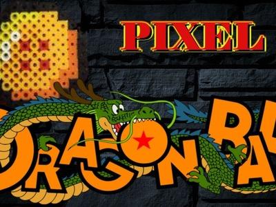 Pixel Art Dragon Ball Z bola de dragón 4 estrellas