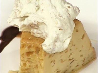 Sabor Argentino - Flan de dulce de leche y budín de pan