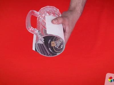 Sublimación Mug de vidrio en máquina 4 en 1 - Tendencias GyG